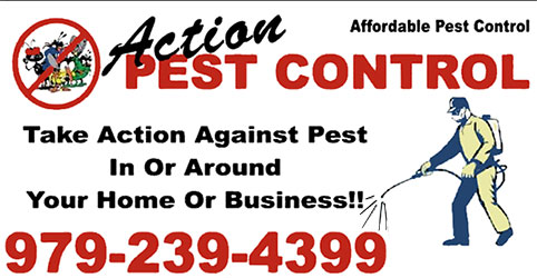 Action Pest Control's Business Card